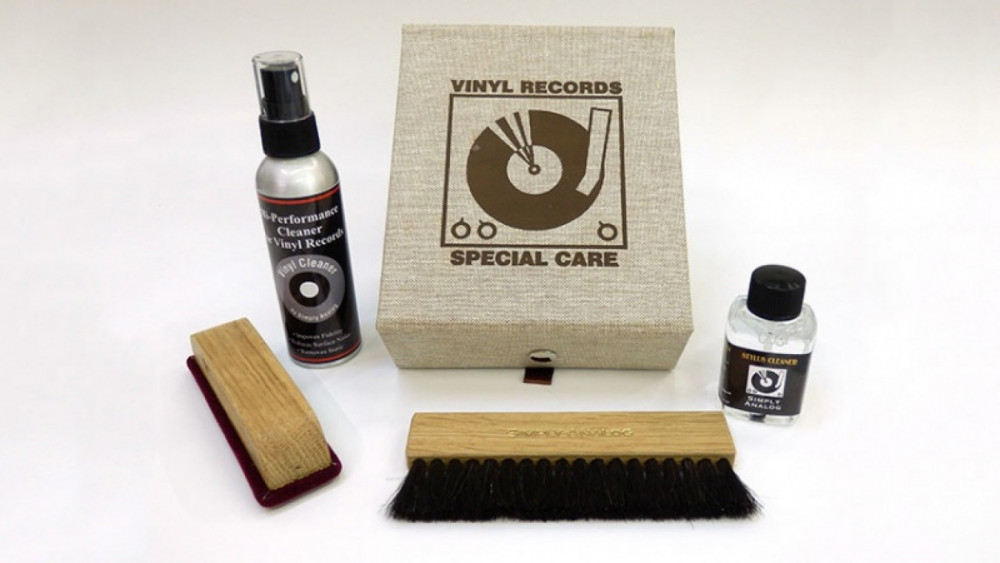 Simply Analog Vinyl Record Special Care Kit