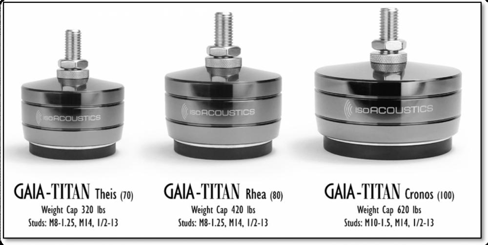 ISOAcoustics Gaia Titan