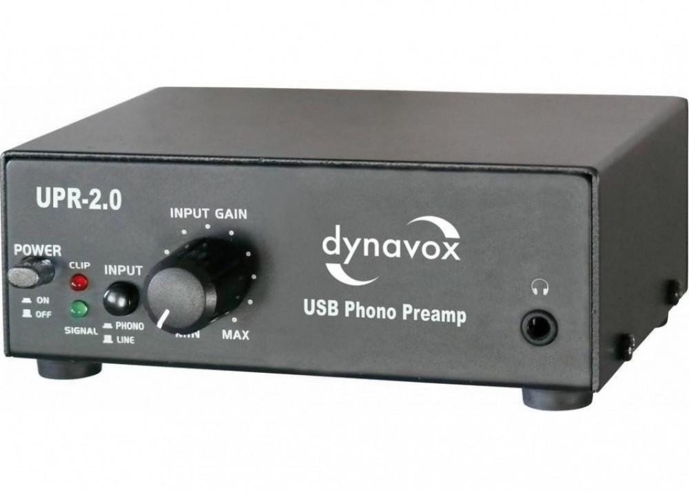 Dynavox USB RIAA Svart