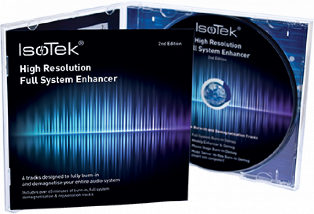 IsoTek Hi-Res System Enhancer Disc