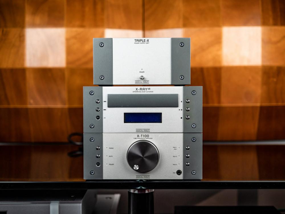 Begagnad Musical Fidelity X-T100 X-RAY TRIPLE-X