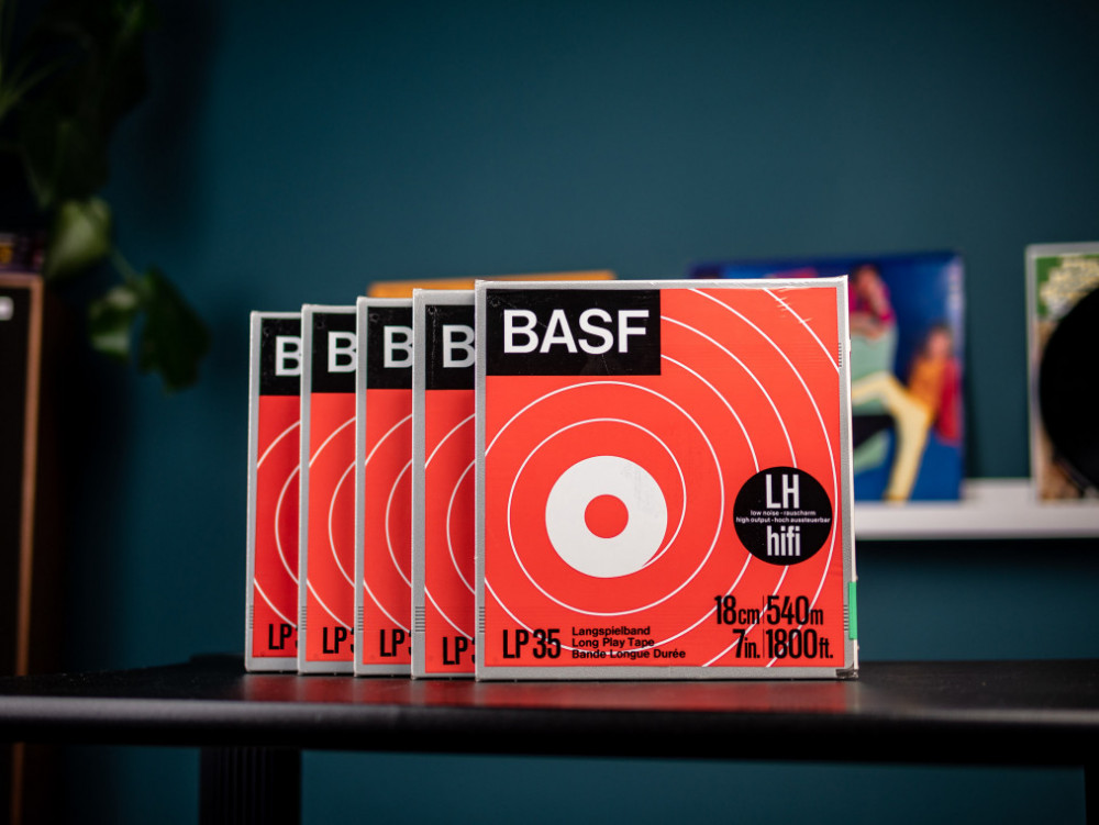 Begagnad BASF Rullband NY