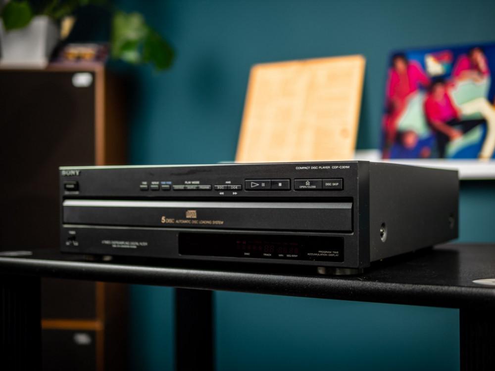 Sony Begagnad CDP-C301M