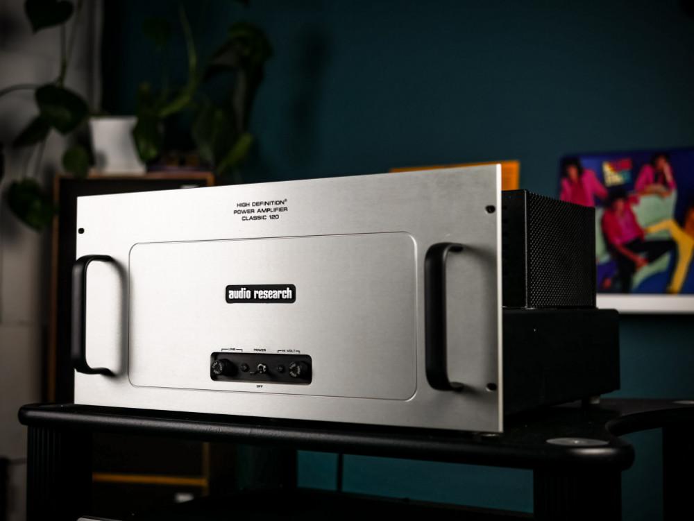 Begagnad Audio Research Classic 120 - 2 st