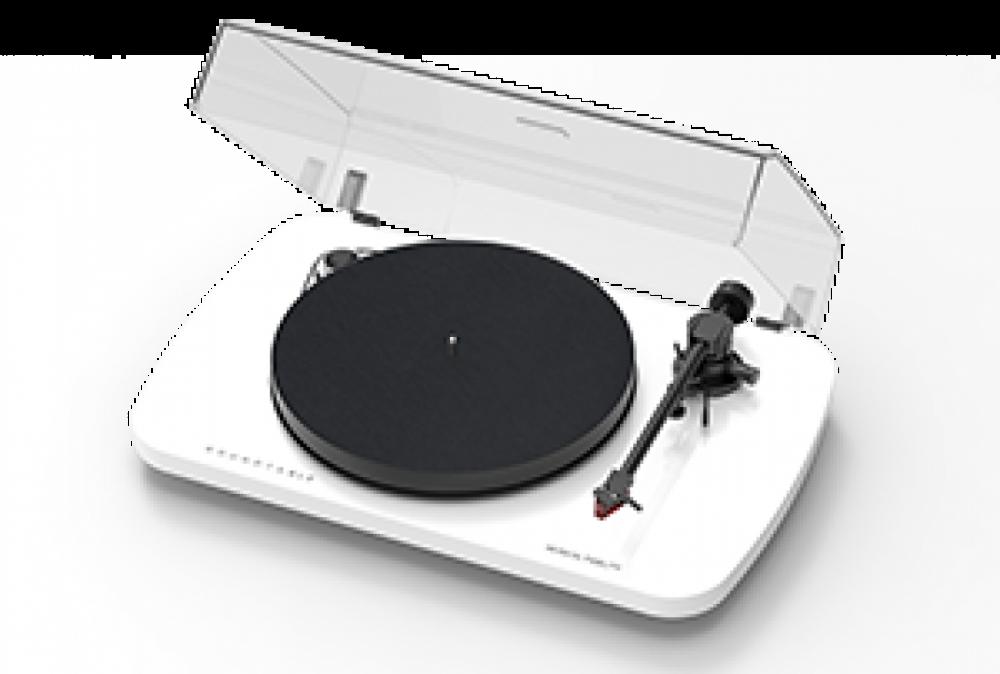 Musical Fidelity Roundtable S med Dust cover