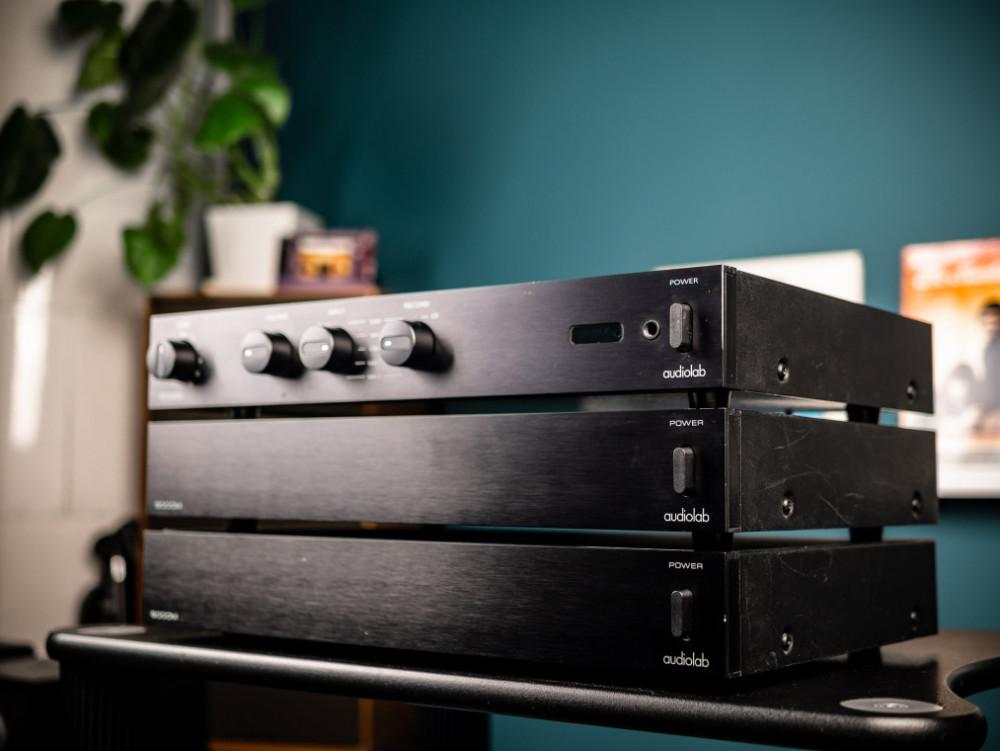 Begagnad AudioLab 8000Q & 8000M paket