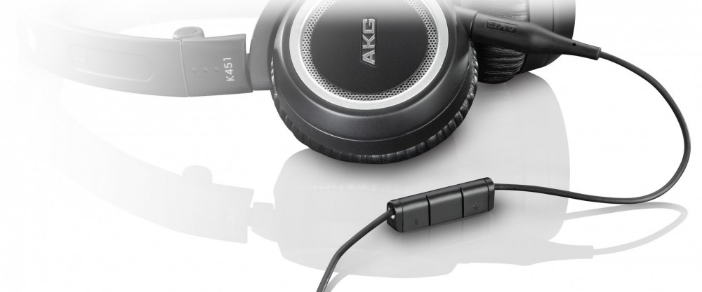AKG Ersättningskabel med mic till K451