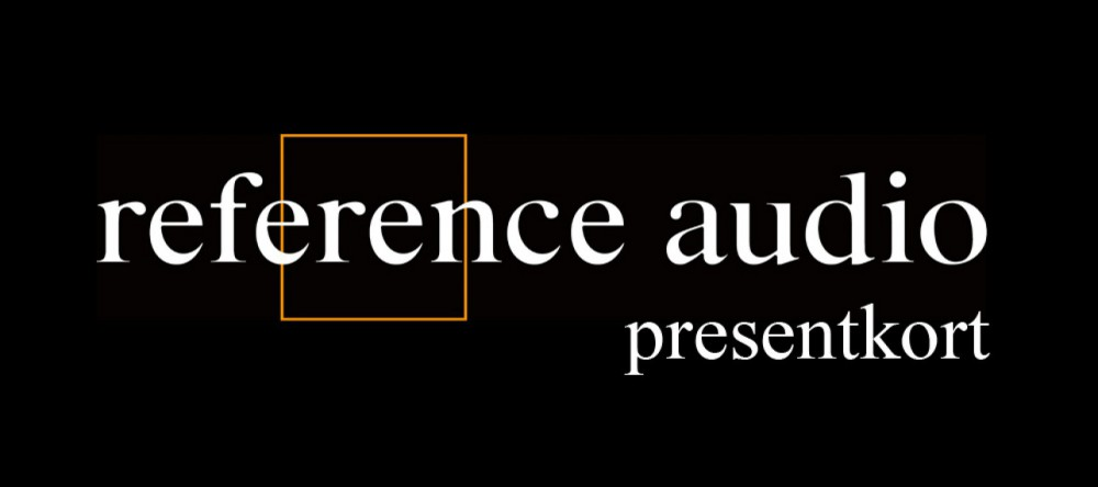 Reference Audio Presentkort