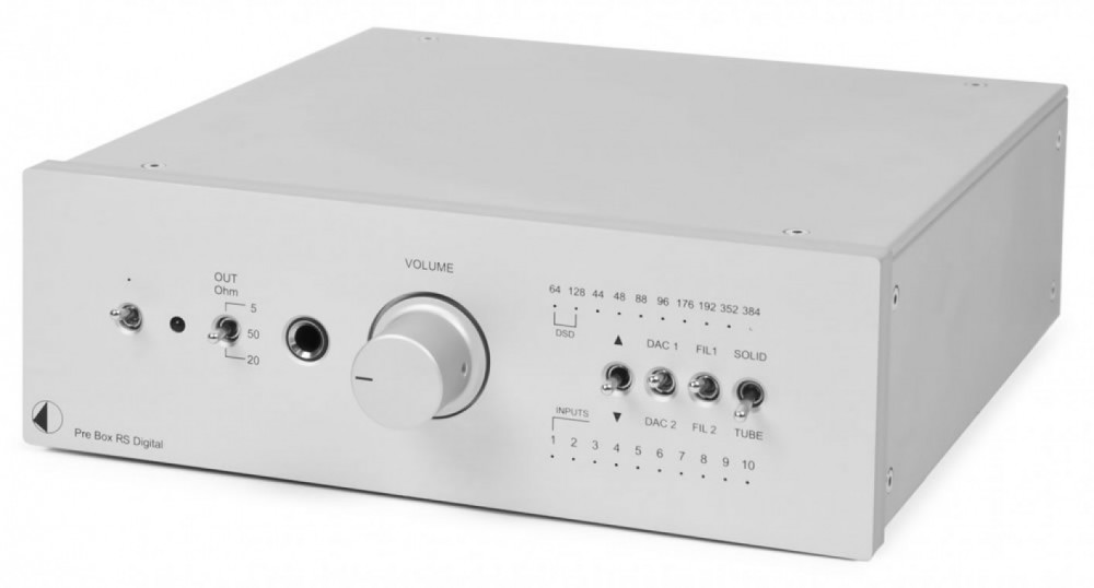 Pro-Ject Pre Box RS Digital Silver