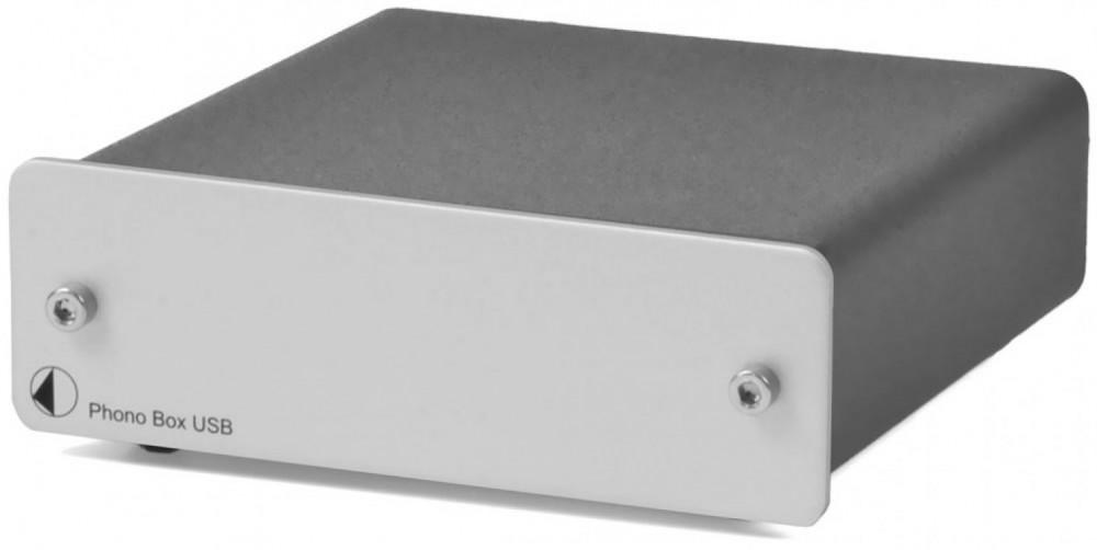 Pro-Ject Phono Box USB DC Silver