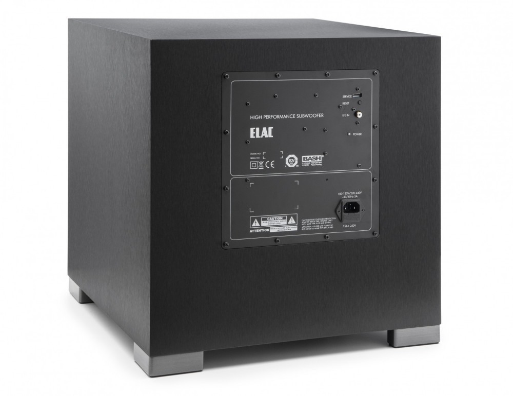 elac debut s12eq reference audio. Black Bedroom Furniture Sets. Home Design Ideas