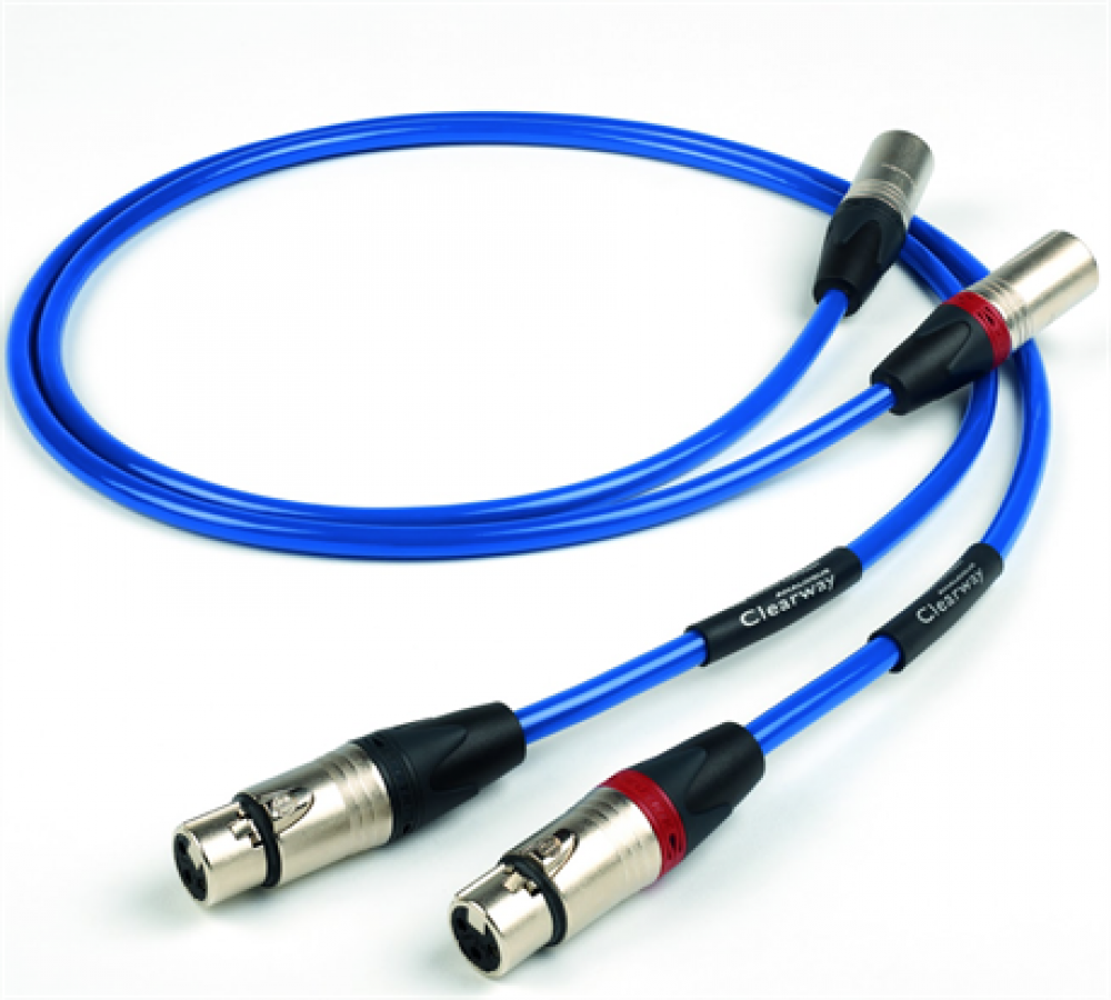 The Chord Company Clearway 2XLR-2XLR