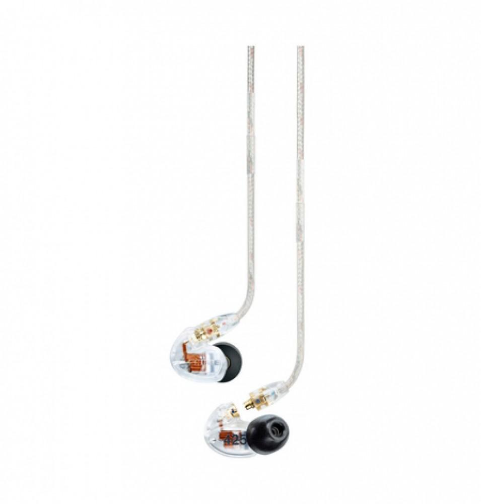 Shure SE425 + BT2-kabel Clear