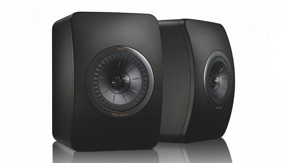 KEF LS50 Black Edition (Svart/Svart)